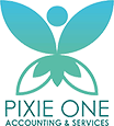 Pixie One Accounting & Services Logo